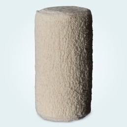 One roll of BeneCast cotton crepe bandage