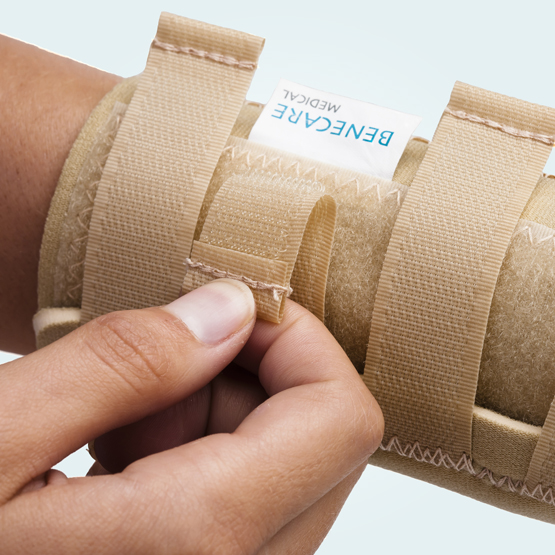 benecare neo-wrap wrist thumb support straps