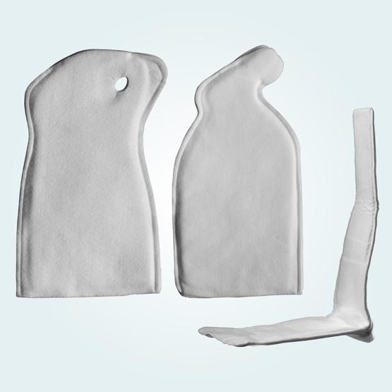 Pre-cut moulded splints