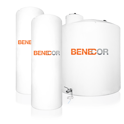 Benecor Vertical Warm Weather Bulk Storage DEF Tank