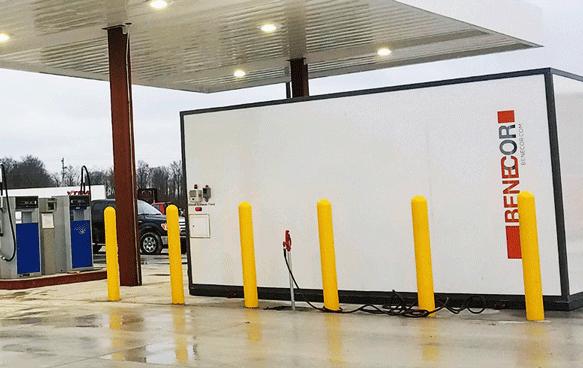 6,000 Gallon DEF Mini-Bulk Maxx-Duty Retail System