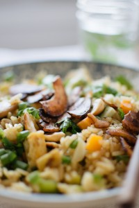 fried rice / arroz oriental