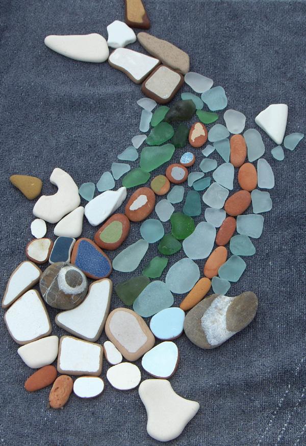 Piastrelle Mosaico Sassi
