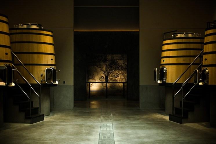 Domaine Continuum Mondavi Cuverie Napa valley - Photo de Bénédicte manière - Photographie de vin et domaines