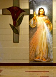 Easter decoration at Terra Sancta Retreat Center
