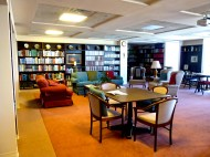 Library and Common Space at Mother of God Monstery