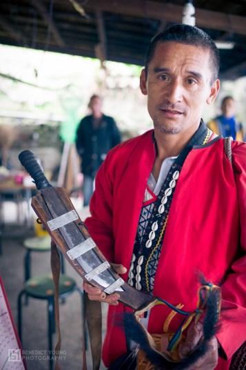 Mayasvi, traditional Tsou knife
