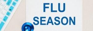 Flu Season sign, prevent the flu