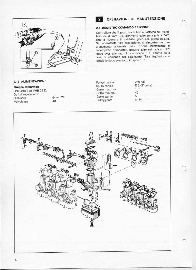 BENELLI 900SEI-WORKSHOP MANUAL • Benelli Club de España