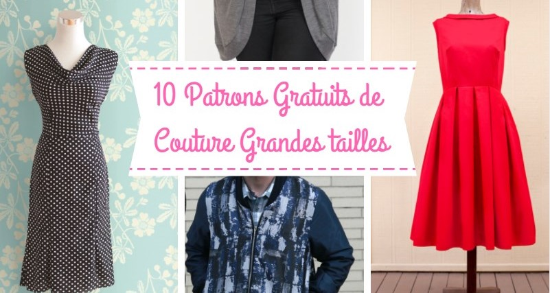 10 Tailles Superbes Grandes Femmes Gratuits Patrons UzVMqSGp