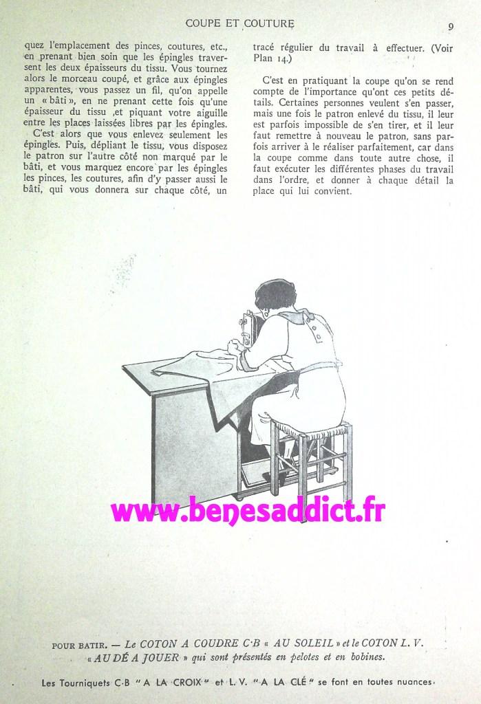 """Patrons favoris """"Méthode de Coupe et Couture"""" 1935 avec 9 patrons GRATUITS !"""