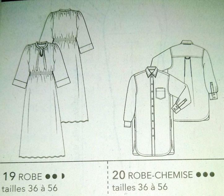 dessin technique robes 6