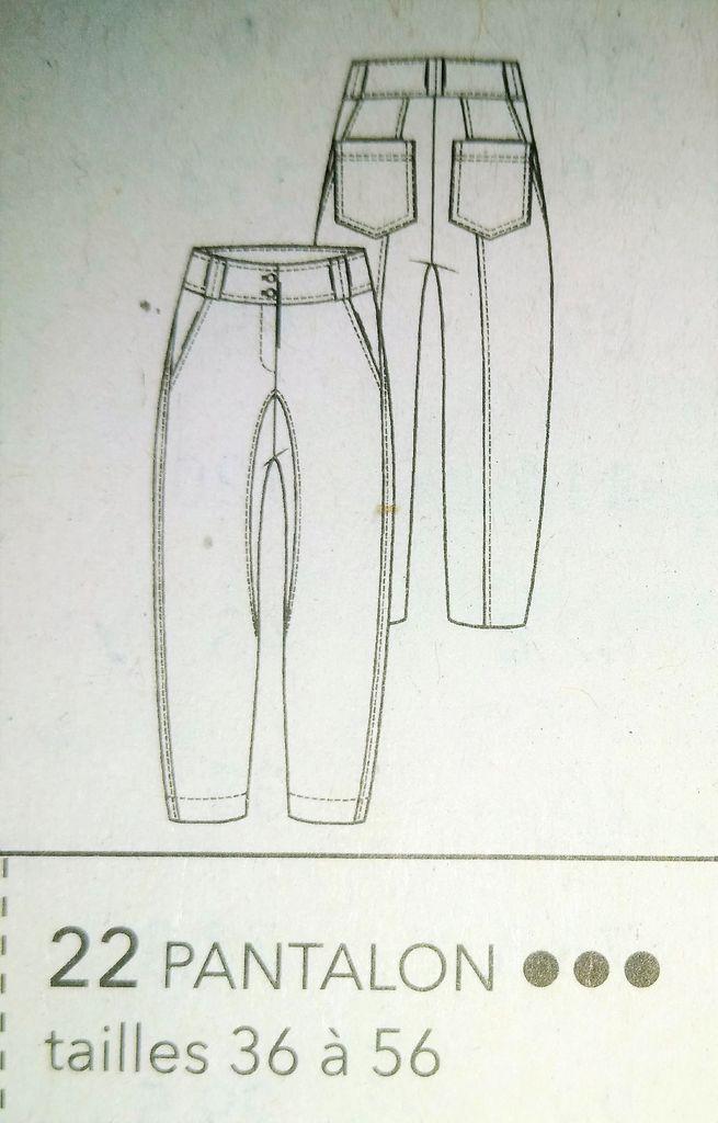 dessin technique pantalons et short
