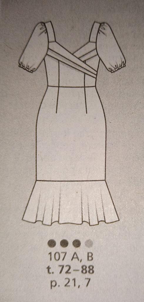 couture addict avec Burda Style n258 beauté et glamour à coudre