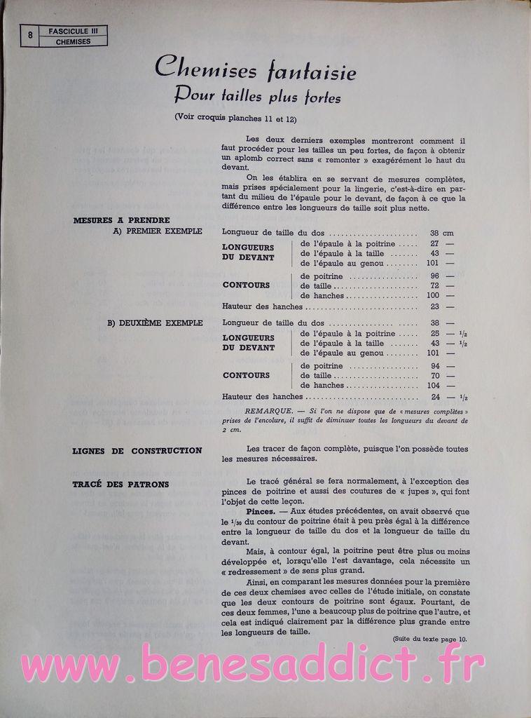 Les Petites Culottes, Lingerie à Coudre,1955 Patrons GRATUIT Coupe à plat sur mesures