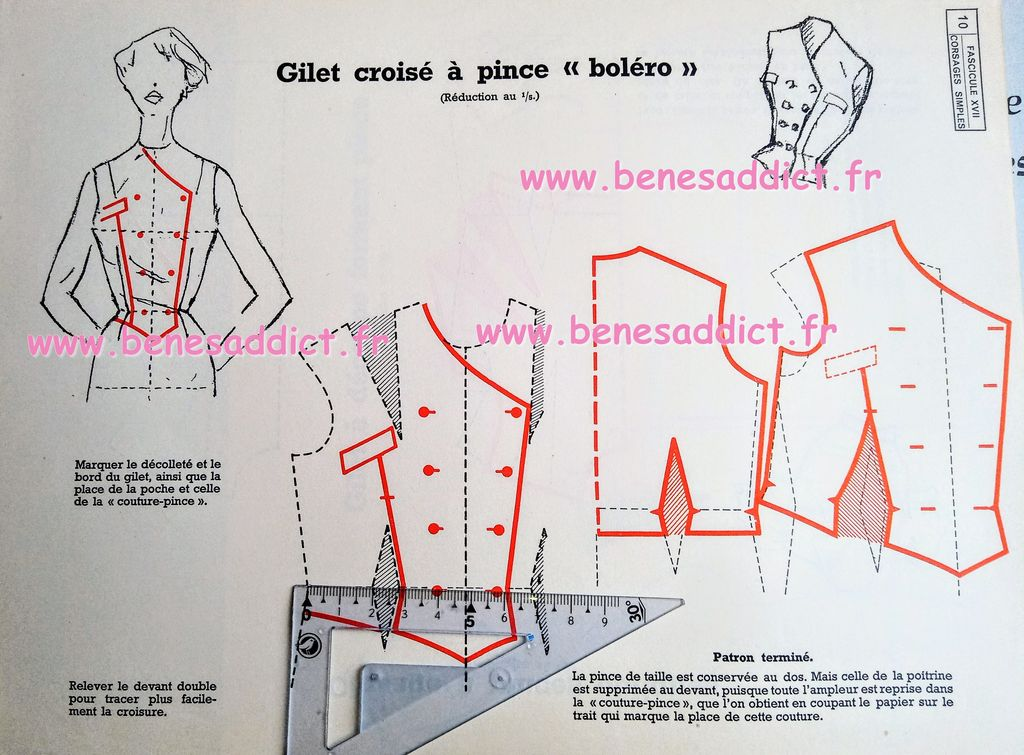 Couture RETRO Patrons Gratuits Robes et Chemisiers à Coudre Années 50 Coupe à plat (1)