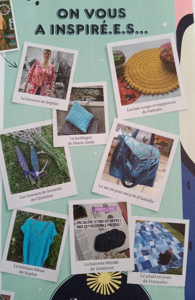 Nouveau 100 Idées n°3 avec Dossier Couture la Rentrée Créative des enfants