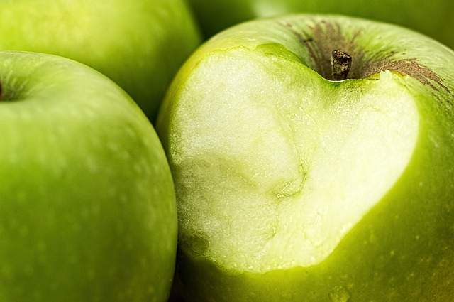 Mele verdi morso