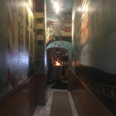 THE HALLWAY - Custom Mural was always a talking point.