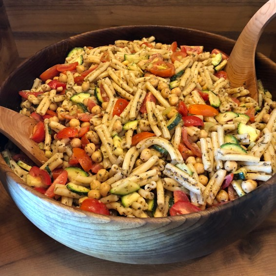 Pasta Salad tossed in Italian Dressing