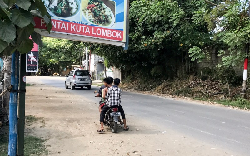Lombok – Kuta – iPhone Jagd
