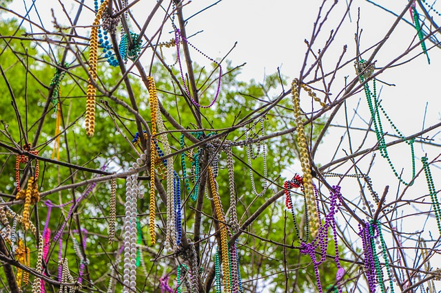 How to recycle Mardi Gras Beads