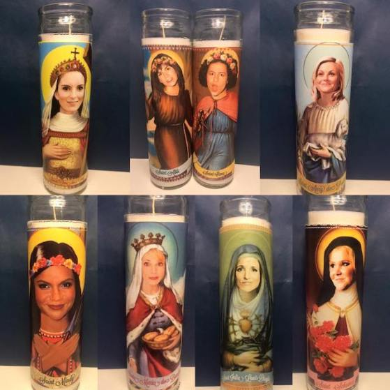 Mose, Mary & Me | Pop Culture Prayer Candles
