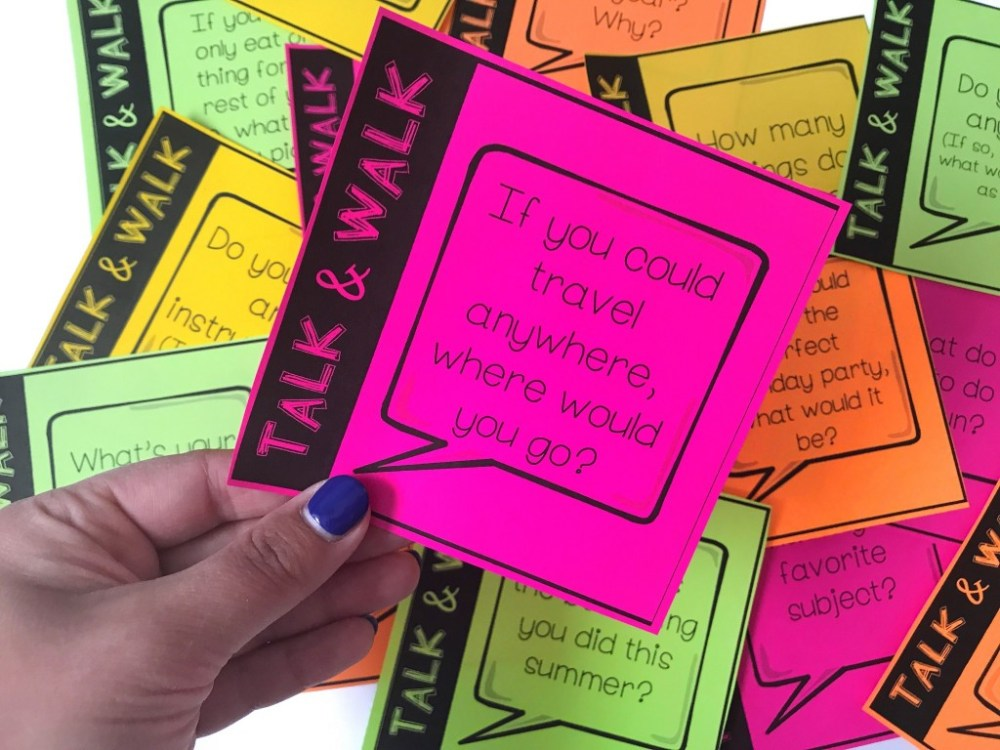 medium resolution of 4 Awesome Back To School Icebreaker Activities