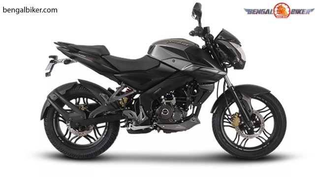 bajaj pulsar ns 160 abs black