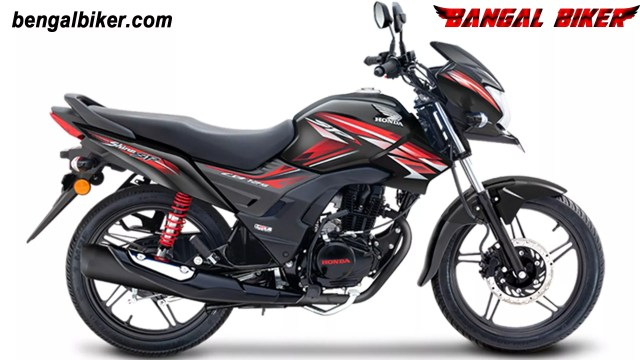 honda cb shine sp125 black colors