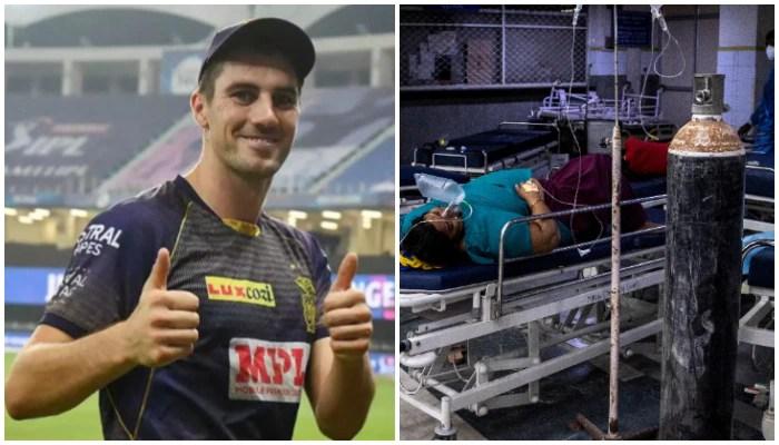 IPL 2021: ভারতের দুঃসময়ে পাশে KKR মহাতারকা, অক্সিজেন কেনার জন্য Pat Cummins দিলেন ৫০ হাজার মার্কিন ডলার