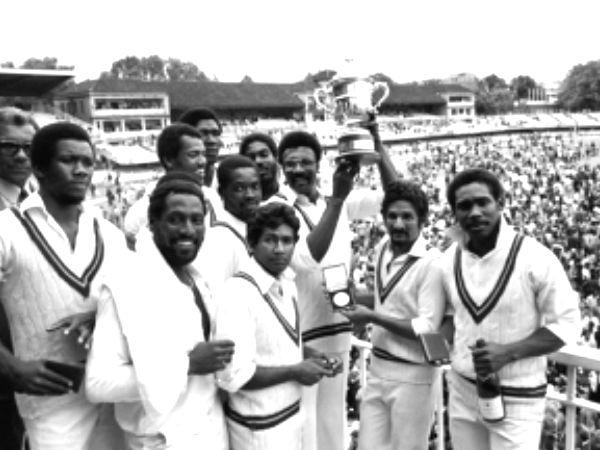 ১৯৭৯ বিশ্বকাপ জিতে ওয়েস্ট ইন্ডিজ