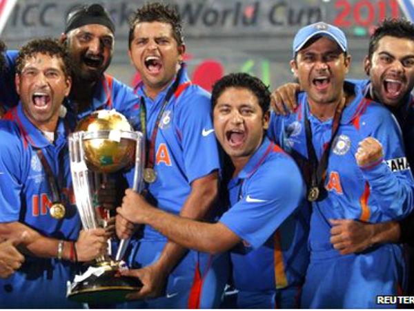 ২০১১ বিশ্বকাপজয়ী ভারতীয় দল