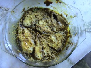 Hilsa with Steam (Ilish Bhape)