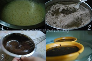 Prepare Chocolate Cake