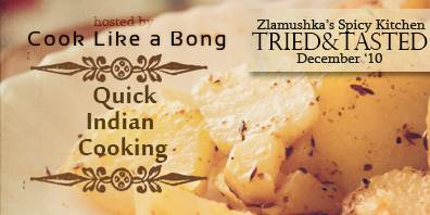 Event Announcement - Tried and Tasted Recipes | Cook like a Bong