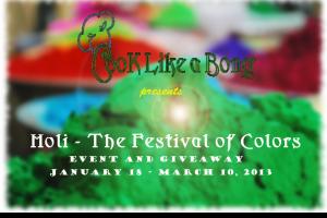 Holi - The Festival of Colors Event Logo