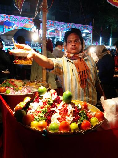 Ghugni stall