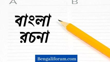 Bengali Essay for Class 3 & 4 । বাংলা রচনা