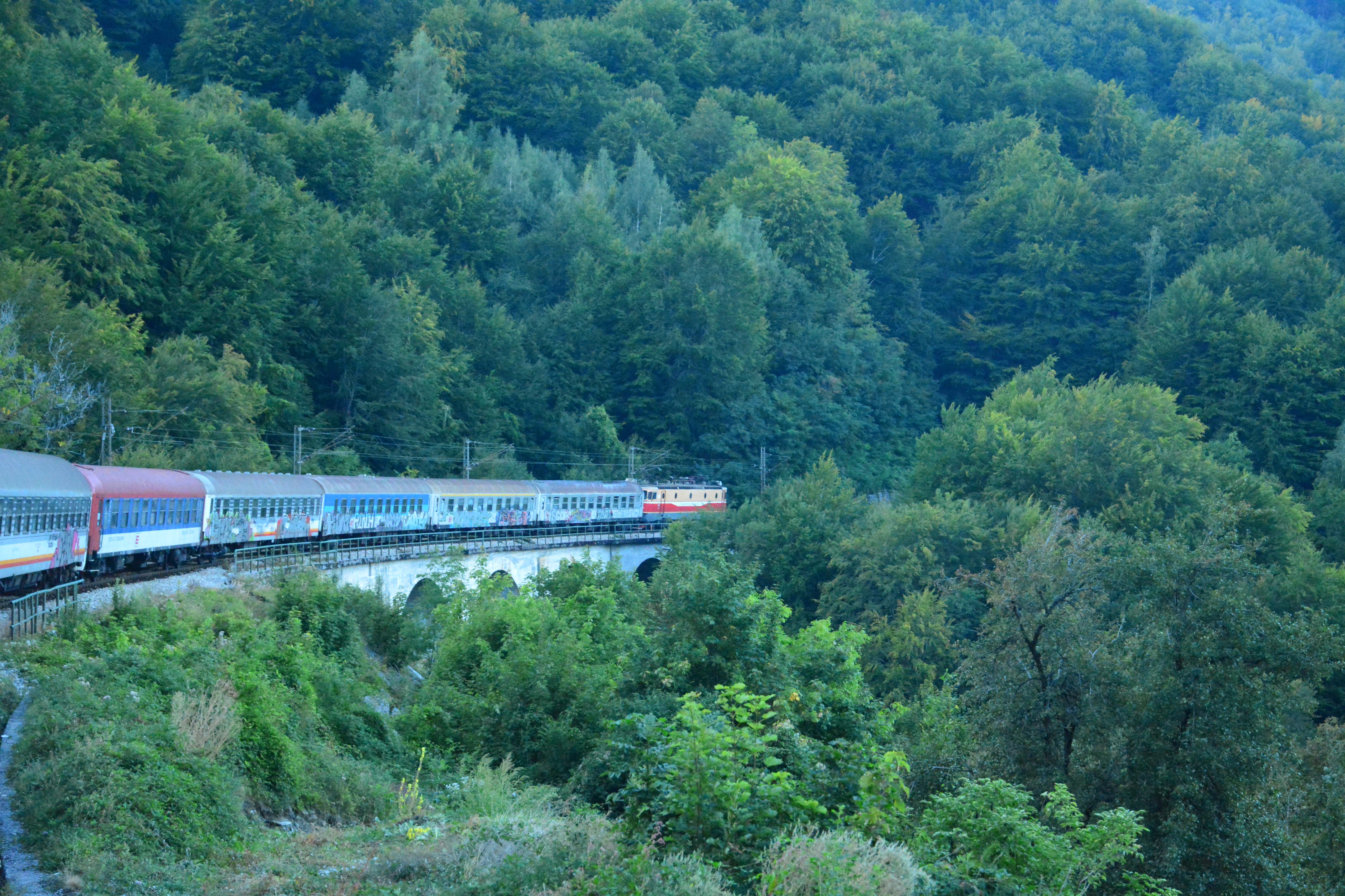 Train from Belgrade to Bar