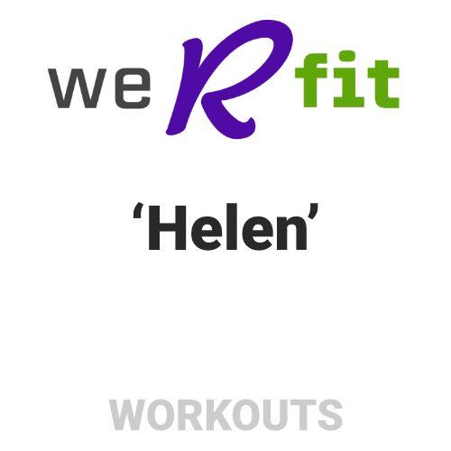 CrossFit Helen Workout