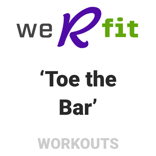 CrossFit Toe the Bar Workout