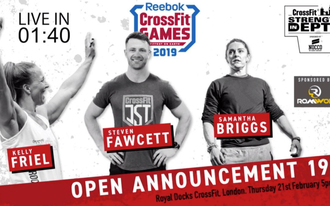 CrossFit Open 19.1 is a 15-minute AMRAP of wall balls and rowing
