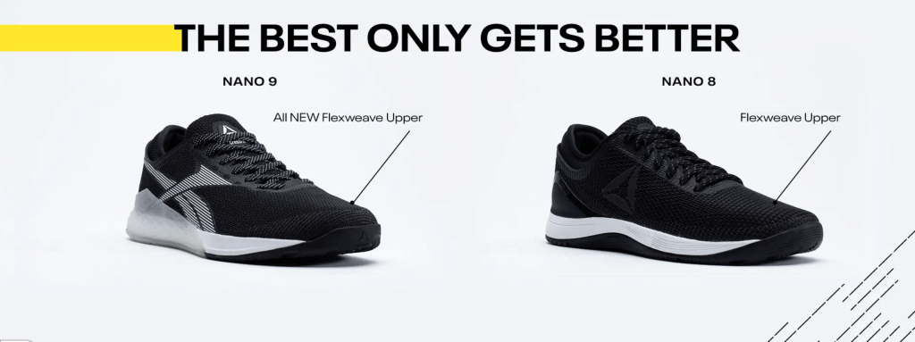 According to the Reebok website, the Reebok Nano 9 will feature an all-new Flexweave upper to replace the original innovative material in the Reebok Nano 8. Image courtesy of Reebok.