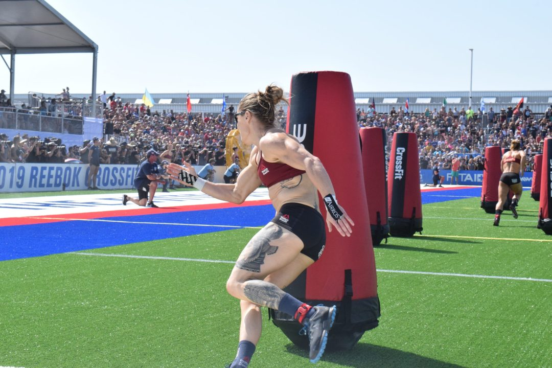 013 - Sam Briggs of the United Kingdom races in a heat of the Sprint event at the 2019 CrossFit Games2