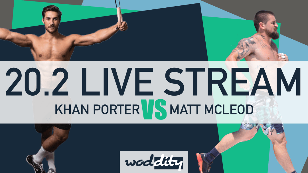 Watch the 20.2 Open workout announcement with WODDITY