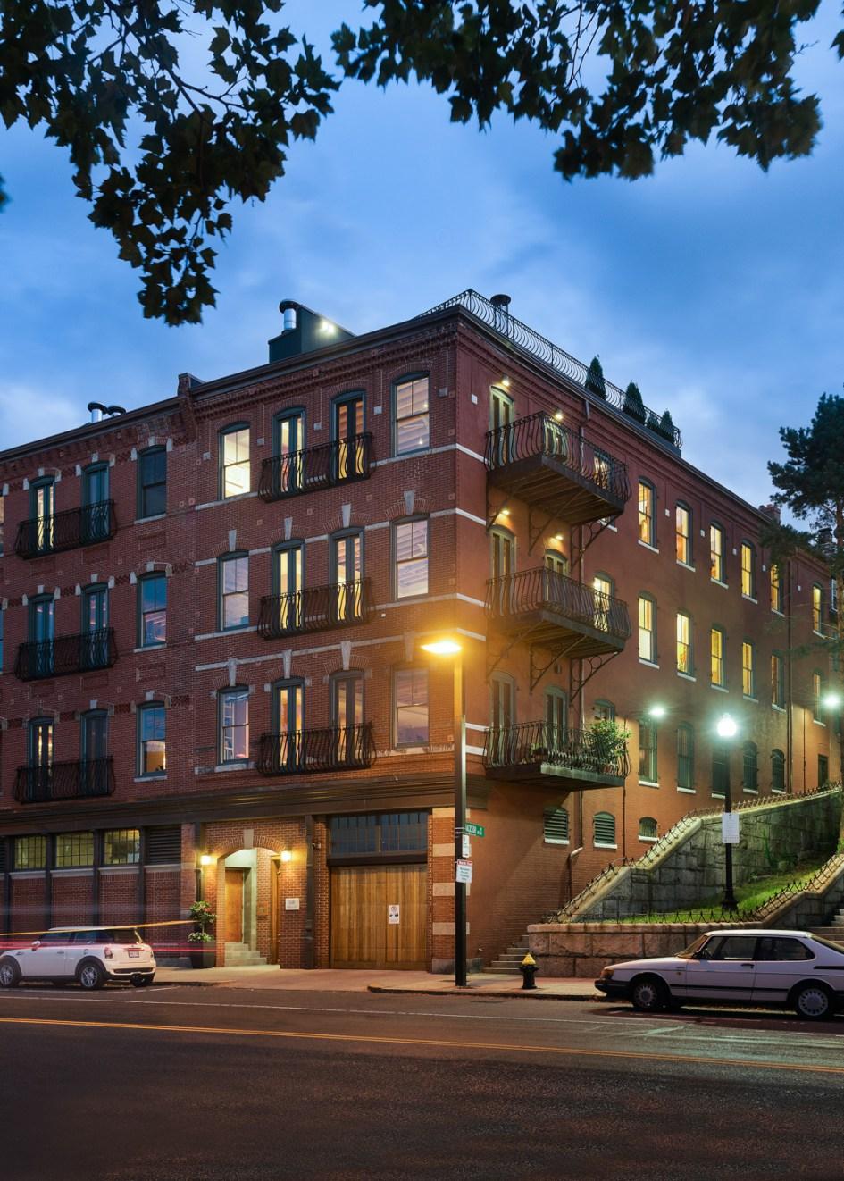 boston residence, Ben Gebo Photography