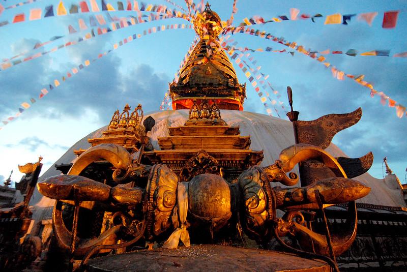 Vajra at Swayambhunath