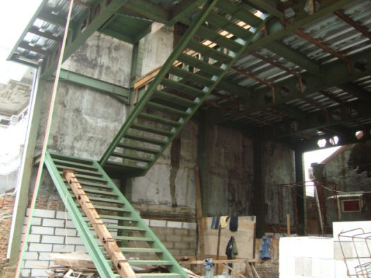 contoh atap baja ringan rumah minimalis konstruksi | bengkel las lampung - ...