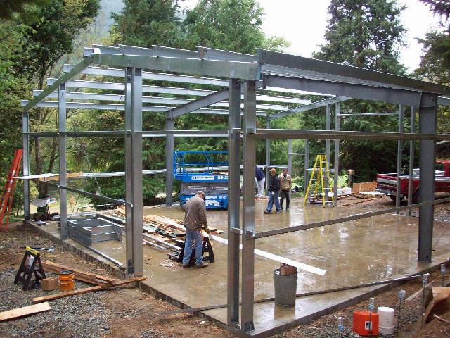 jasa pemasangan baja ringan bekasi konstruksi   bengkel las tangga putar - cv ...